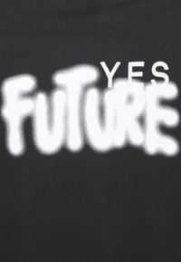 Études - YES FUTURE UNISEX - Printtipaita - black - 2