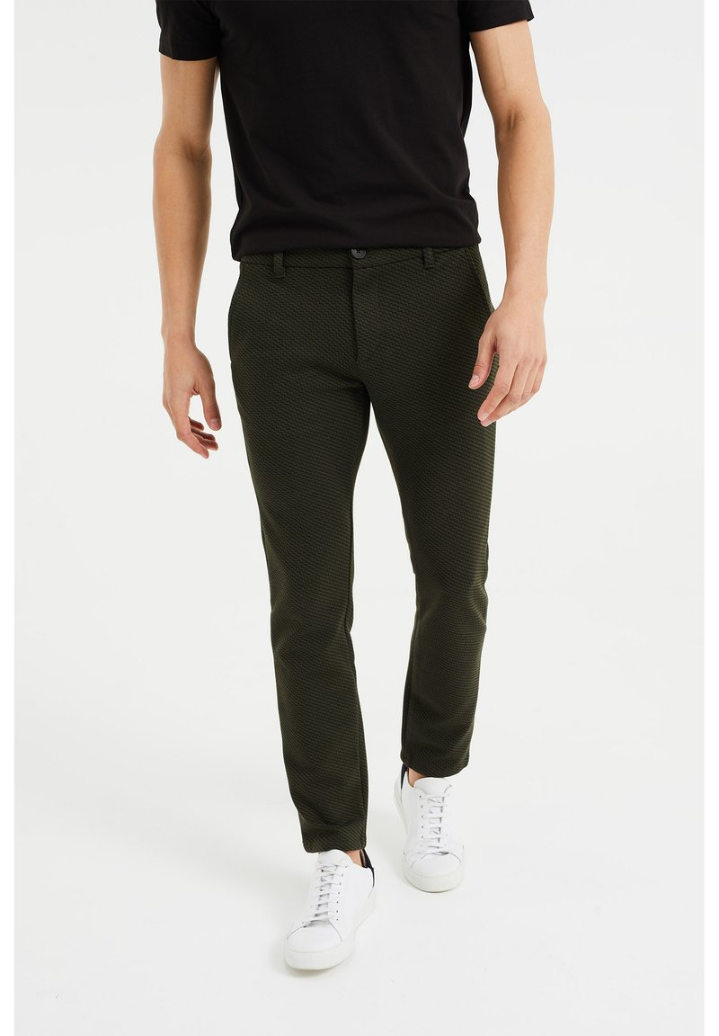 WE Fashion - Chinos - dark green