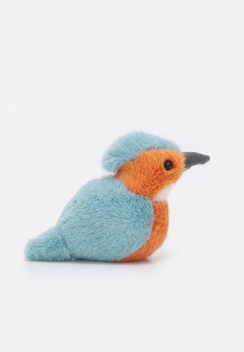 BIRDLING KINGFISHER UNISEX - Cuddly toy - blue/orange
