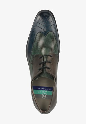 Lace-ups - blue grey 4015