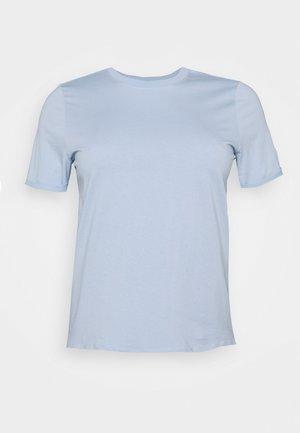 PCRIA FOLD UP SOLID TEE - Basic T-shirt - kentucky blue
