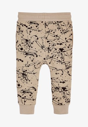 STONE CEMENT SPLAT PRINT JOGGERS (3MTHS-7YRS) - Tracksuit bottoms - beige