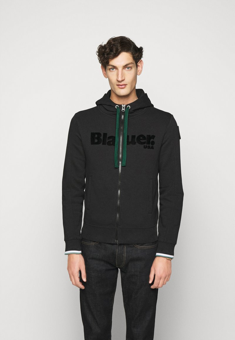 Blauer - APERTA CAPPUCCIO - Zip-up hoodie - black