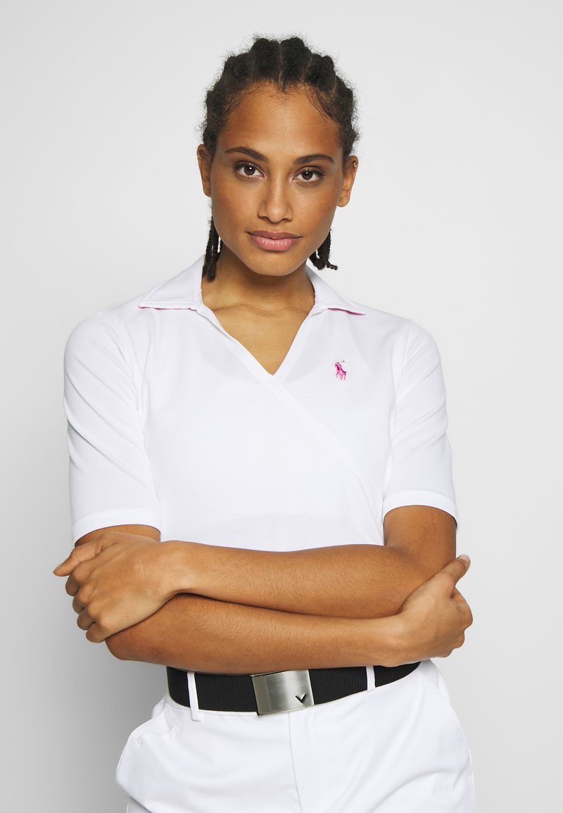 Polo Ralph Lauren Golf - SHORT SLEEVE - Polo shirt - pure white