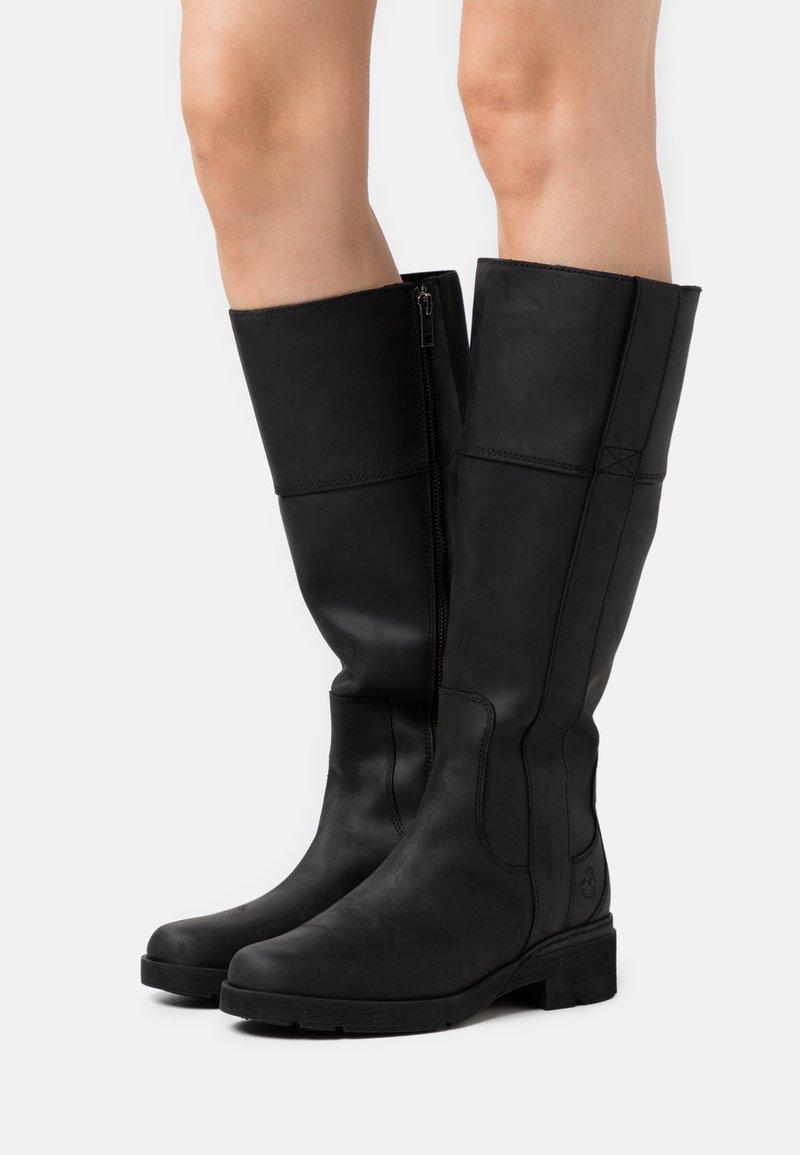 Timberland - GRACEYN TALL SIDE ZIP WP - Boots - black