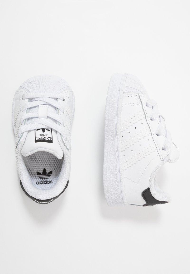 adidas Originals - SUPERSTAR EL - Sneaker low - footwear white/core black
