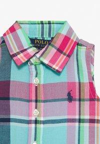 Polo Ralph Lauren - DRESSES - Korte jurk - seafoam - 2