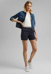 Esprit - STRETCH  - Shorts - navy - 3