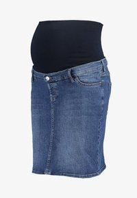 Esprit Maternity - SKIRT - Spódnica jeansowa - medium wash - 3