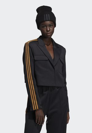 IVY PARK CROP SUIT JACKET - Blazer - black