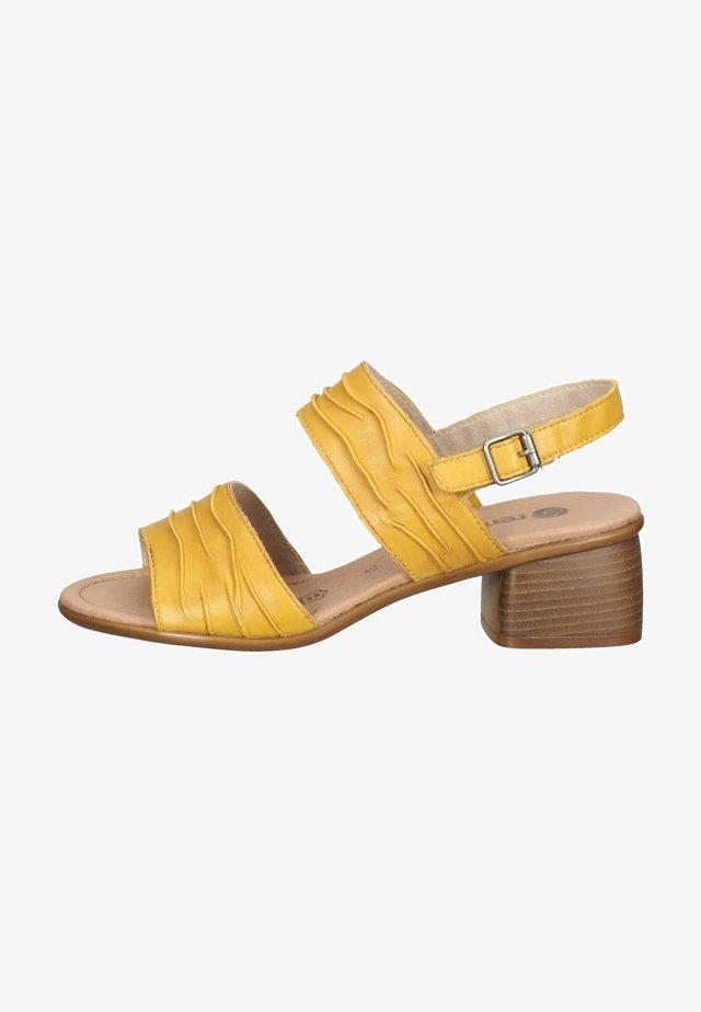 Sandalen - gelb