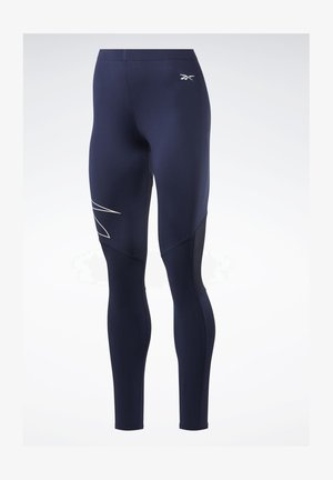 UNITED BY FITNESS COMPRESSION TIGHTS - Collants - blue
