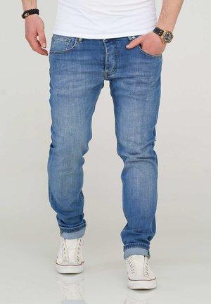 MJBOBBY - Slim fit jeans - light blue