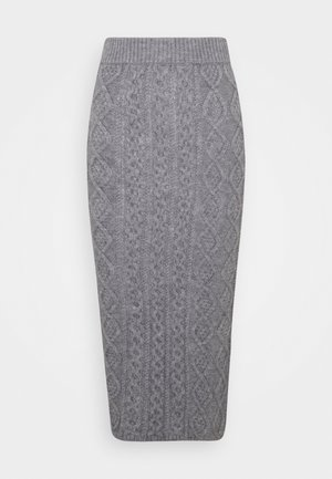 CABBIE SKIRT - Pencil skirt - grey