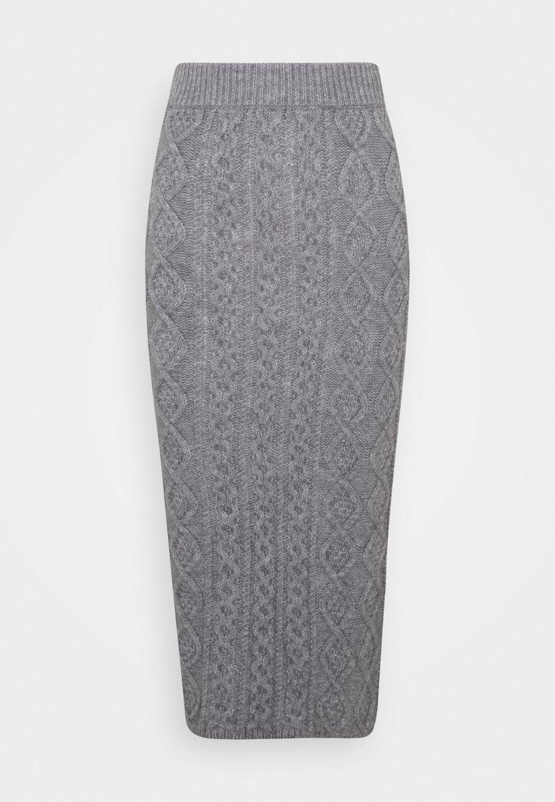 Fashion Union - CABBIE SKIRT - Blyantskjørt - grey