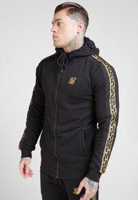 SIKSILK - Zip-up hoodie - black - 0