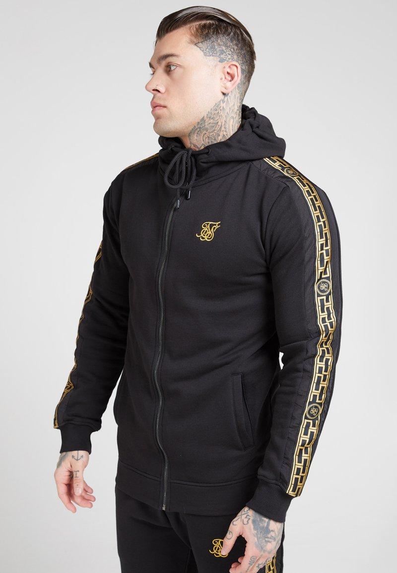 SIKSILK - Zip-up hoodie - black