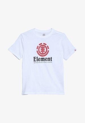 VERTICAL BOY - T-shirt print - optic white