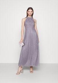 Vila - VIANGEELA HALTERNECK ANKLE DRESS - Occasion wear - quicksilver - 1