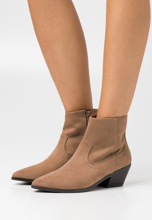 FRANCO WESTERN - Ankle boots - taupe