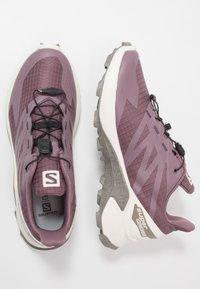 Salomon - SUPERCROSS  BLAST - Trail running shoes - flint/vanilla/vintage kaki - 1