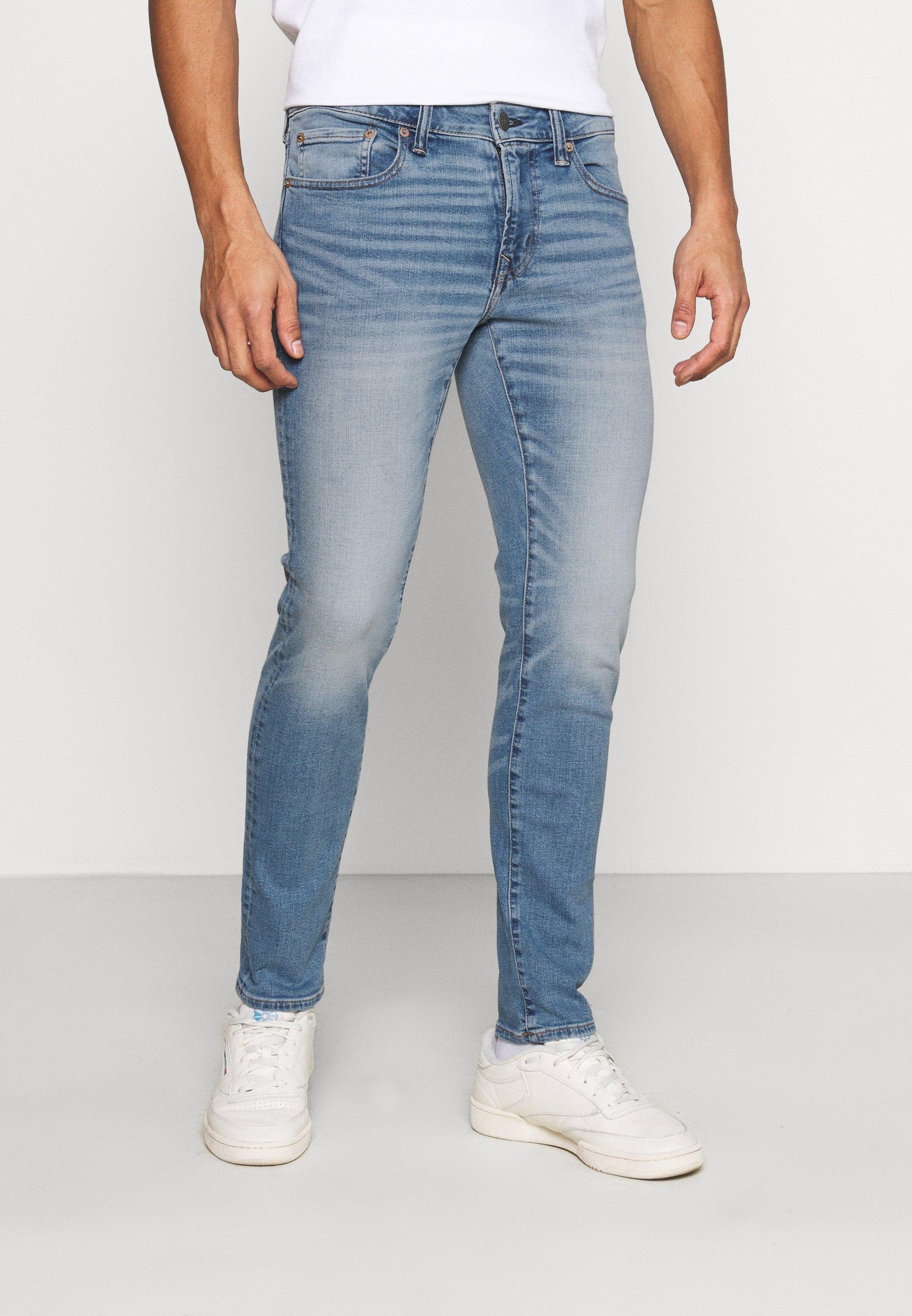 Uomo MEDIUM CLEAN WASH - Jeans Skinny Fit