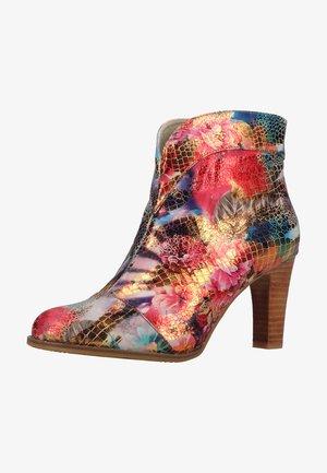 Kotníková obuv - rouge