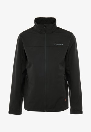 HURRICANE JACKET - Softshelljakke - black