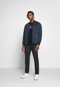 HUGO - DOLIVE - T-shirt print - dark blue - 1