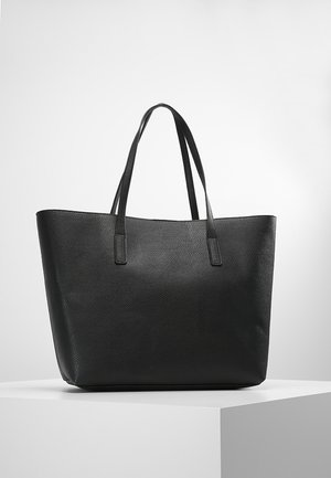Shopping Bag - black/red