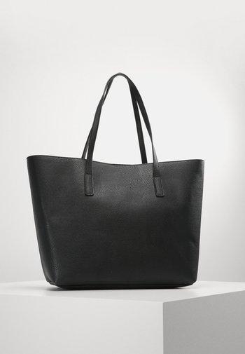 Tote bag - black/red