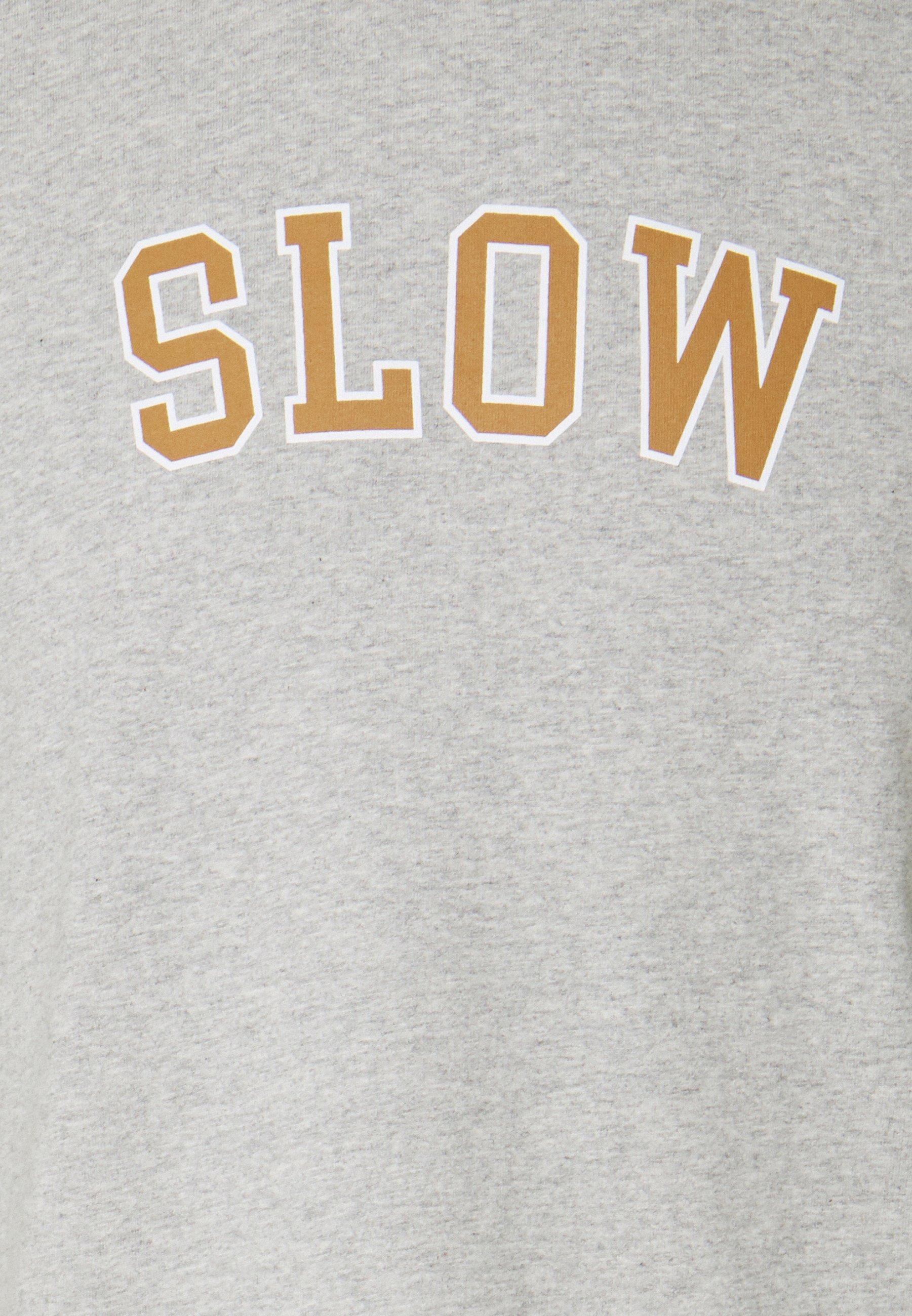 forét EASE - T-Shirt print - light grey melange/hellgrau-meliert - Herrenbekleidung bZIoF