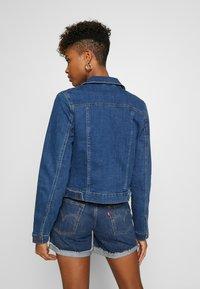 Vero Moda - VMULRIKKA JACKET MIX  - Denim jacket - medium blue denim - 2
