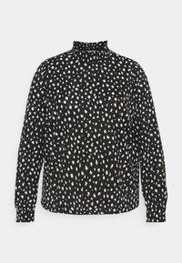 CARPELLY - Long sleeved top - black