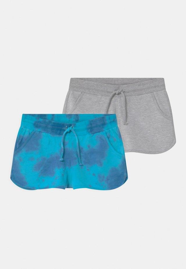 TEEN GIRLS 2 PACK - Shorts - scuba blue
