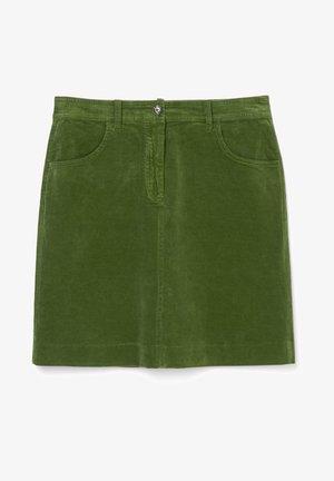 Mini skirt - lush pine