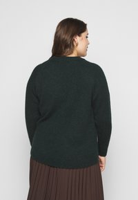 Selected Femme Curve - SLFLIA O-NECK  - Jumper - scarab - 2