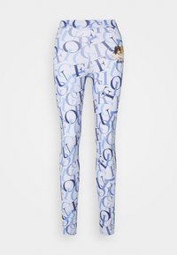 Fiorucci - ALL OVER LOGO  - Leggings - Trousers - blue - 0