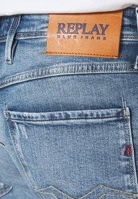 Replay - ANBASS BIO - Jeans slim fit - indigo - 5