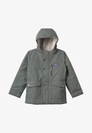 BOYS INFURNO JACKET - Winter jacket - industrial green/coriander brown