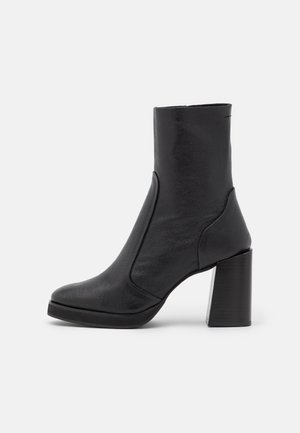 HAZEL - Kotníkové boty - black