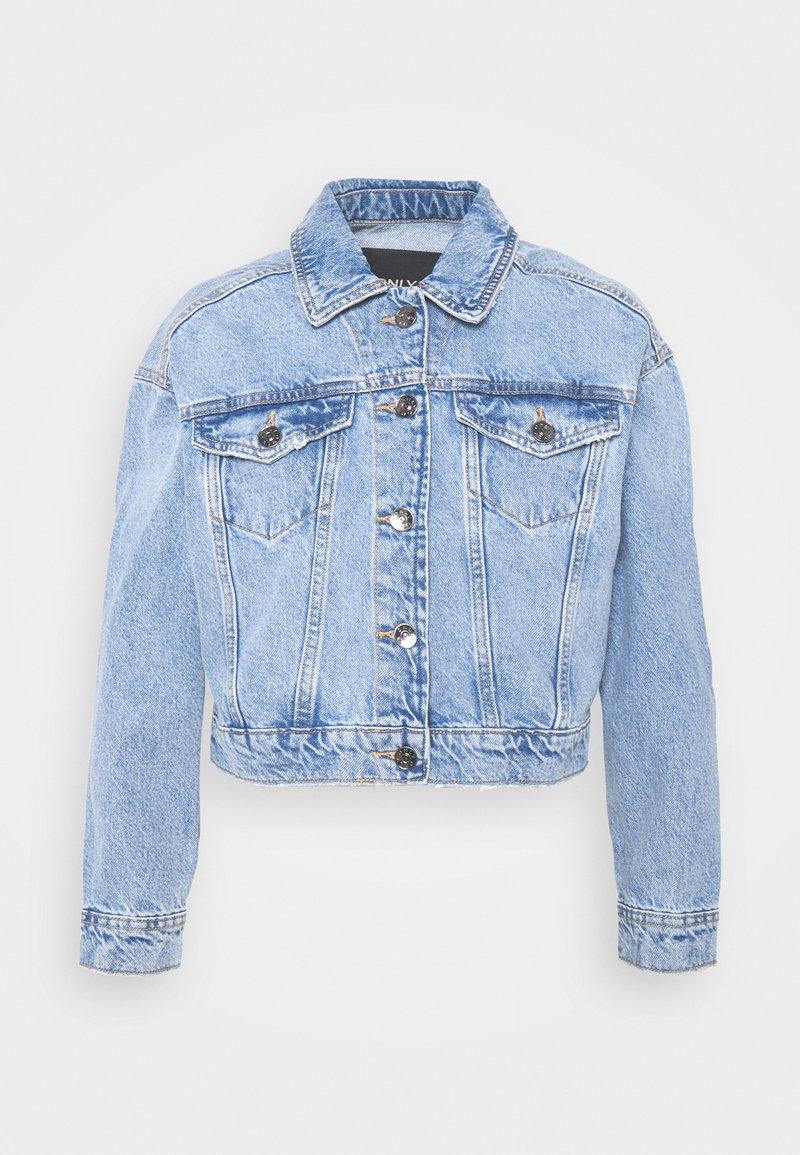 ONLY Petite - ONLMALIBU LIFE JACKET - Denim jacket - light blue denim