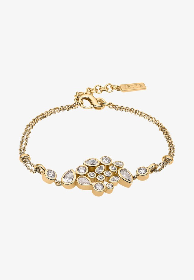 Bracelet - yellow gold-colored