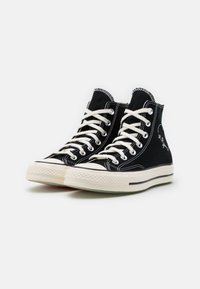 Converse - CHUCK 70 UNISEX - High-top trainers - black/egret/black - 1