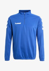 Hummel - CORE ZIP - Long sleeved top - bleu - 4