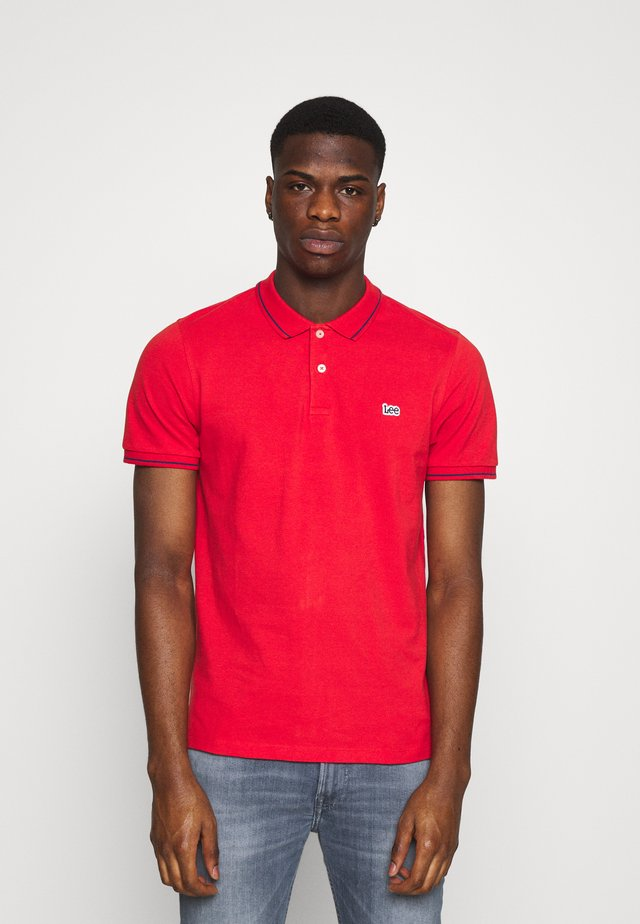 Polo - washed red