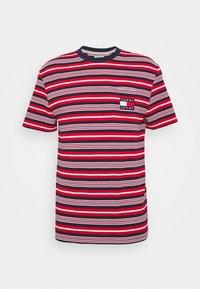 STRIPE POCKET TEE - Print T-shirt - twilight navy