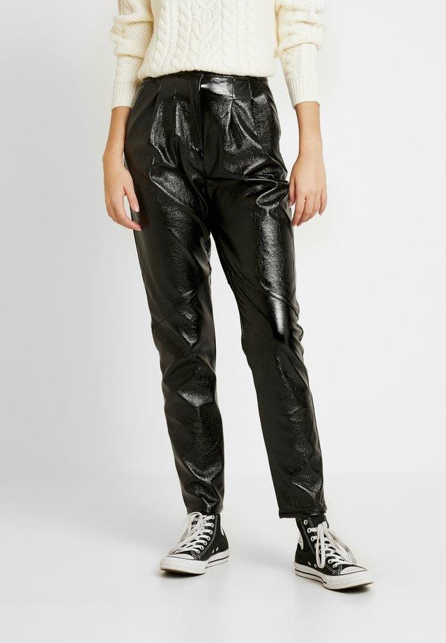 PEG - Pantalon classique - black