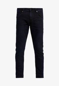 TOM TAILOR DENIM - PIERS - Slim fit jeans - blue/black denim - 4