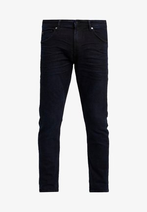 PIERS - Slim fit jeans - blue/black denim